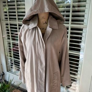 London Fog light weight rain coat
